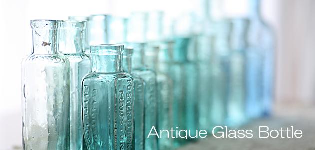アンティークガラスボトル,インクボトル,アンティークガラスです♪