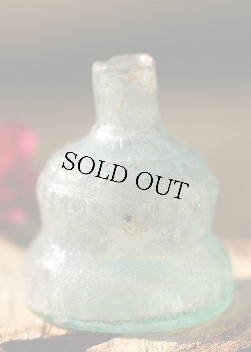 画像1: 〈イギリス〉1900年代  レアベルタイプ 英国アンティークガラスインク瓶  (1)