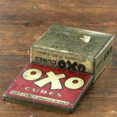 画像4: イギリス アンティーク缶 OXO CUBES(オクソ缶) (4)