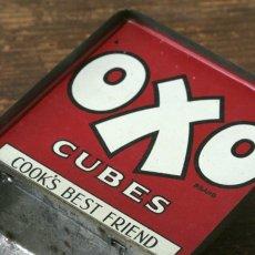 画像7: イギリス アンティーク缶 OXO CUBES(オクソ缶) (7)