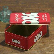 画像3: イギリス ヴィンテージ缶 OXO FOR BEEF & RED MEET(オクソ缶) (3)