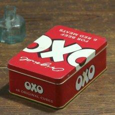 画像2: イギリス ヴィンテージ缶 OXO FOR BEEF & RED MEET(オクソ缶) (2)