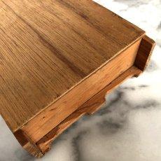 画像18: イギリス 英国製 木製シンブルディスプレイラック+英国陶製シンブル 16個セット (18)