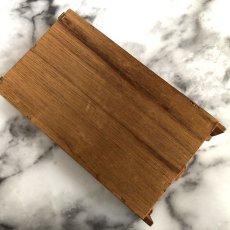 画像17: イギリス 英国製 木製シンブルディスプレイラック+英国陶製シンブル 16個セット (17)
