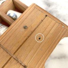 画像20: イギリス 英国製 木製シンブルディスプレイラック+英国陶製シンブル 16個セット (20)