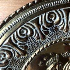 画像5: イギリス 1950-1970年代 真鍮ブラス 飾り皿 壁飾り 帆船 29.7cm (5)