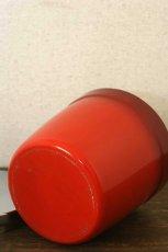 画像5: 〈オーストラリア〉アンティークキャニスター ライス人気の赤いキッチン雑貨 約高さ17.1cm (5)