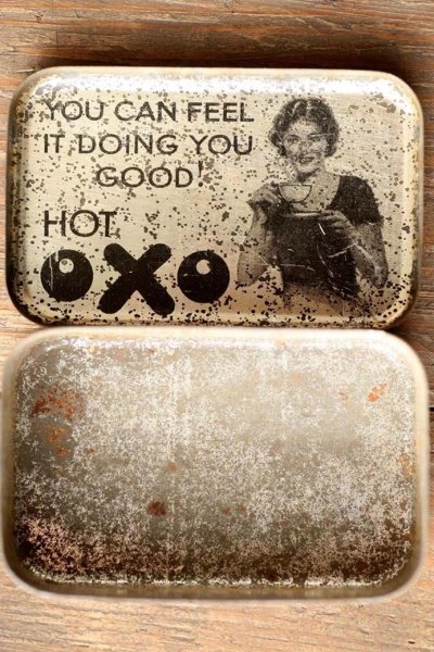 画像2: イギリスアンティーク缶OXO(オクソ)